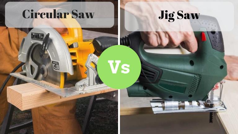 Circular saw vs Jig saw