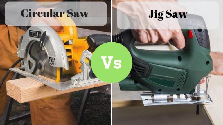Circular saw vs Jig saw