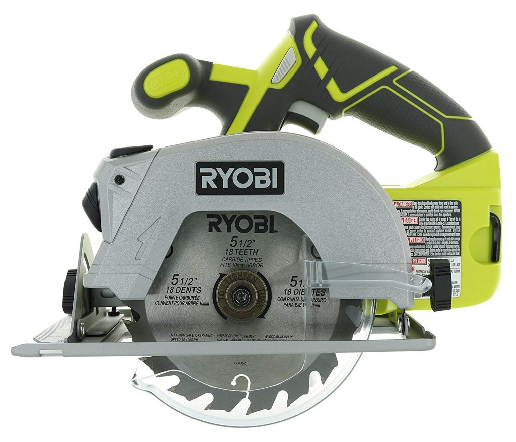 Ryobi P506 One+ cordless circular saw