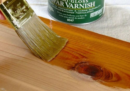Wood painting and finishing